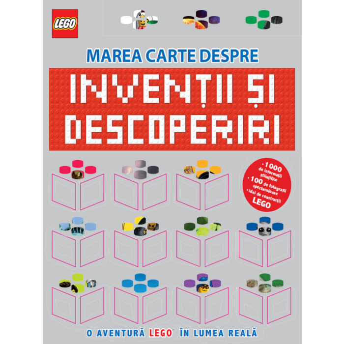 LEGO. Marea carte despre invenții și descoperiri. O aventură LEGO în lumea reală 0