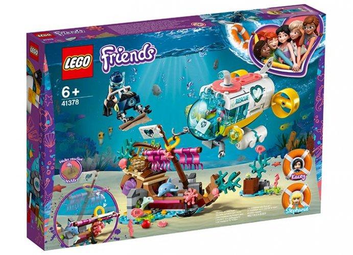 Misiunea de salvare a delfinilor - LEGO Friends 41378 0