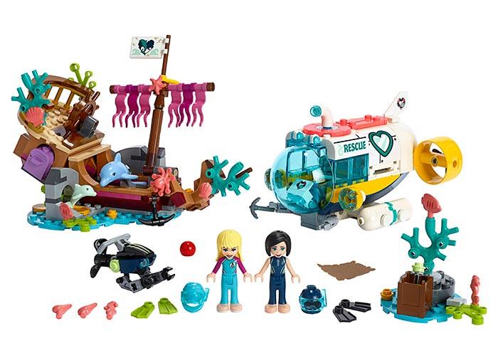 Misiunea de salvare a delfinilor - LEGO Friends 41378 1