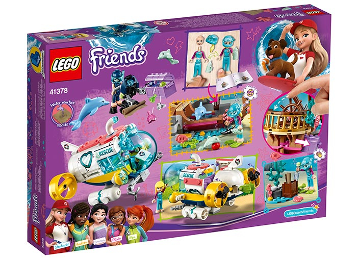 Misiunea de salvare a delfinilor - LEGO Friends 41378 2