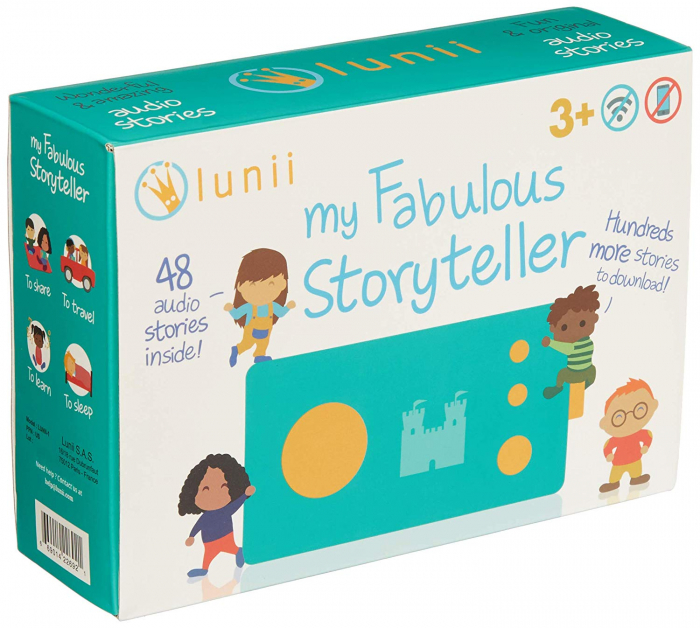 Cutiuta cu povesti - My Fabulous Storyteller (English version) 0