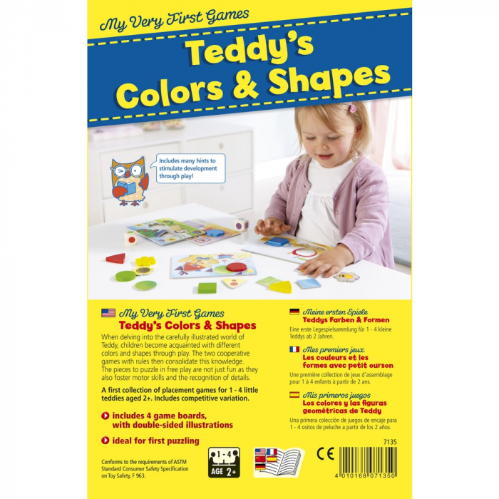 My Very First Games – Teddy's Colors and Shapes 3