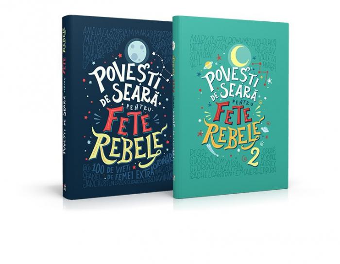 Pachet Povesti de seara pentru fete rebele (2 volume) 0