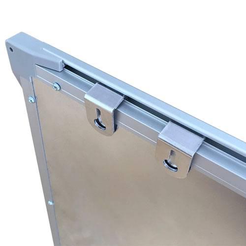 Pachet tabla magnetica alba VISUAL – 120×300 cm 3