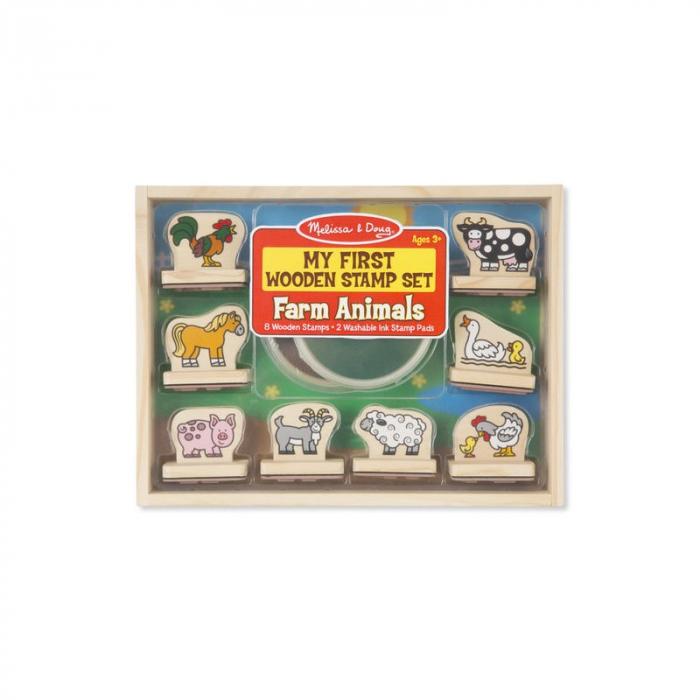 Primele mele stampile - Animale de la ferma 0