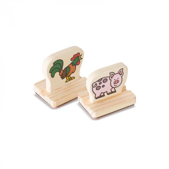 Primele mele stampile - Animale de la ferma 2