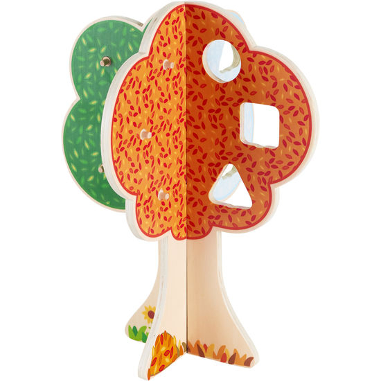 "Puzzle copacul anotimpurilor - Fröbel ""Seasons Tree"" (379242) Haba Education [6]"