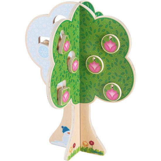 "Puzzle copacul anotimpurilor - Fröbel ""Seasons Tree"" (379242) Haba Education [4]"