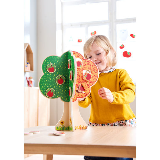 "Puzzle copacul anotimpurilor - Fröbel ""Seasons Tree"" (379242) Haba Education [0]"