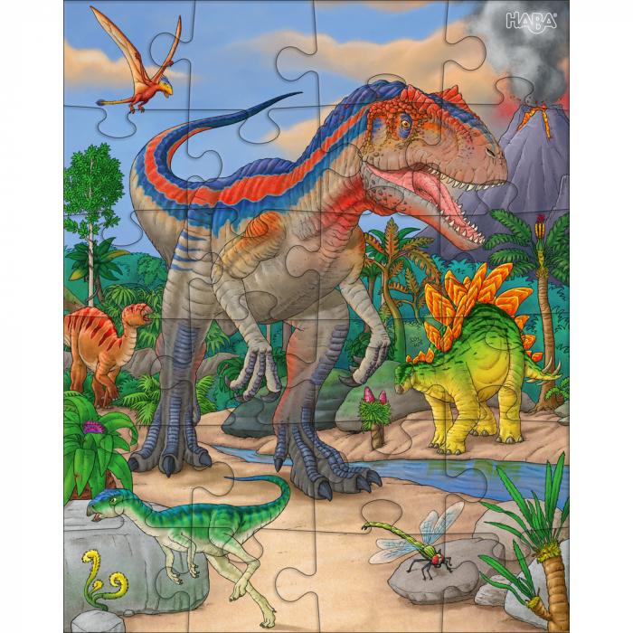 Puzzle cu dinozauri - HABA 3