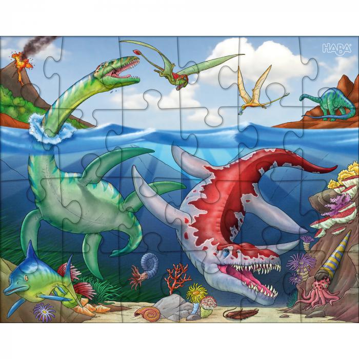 Puzzle cu dinozauri - HABA 1