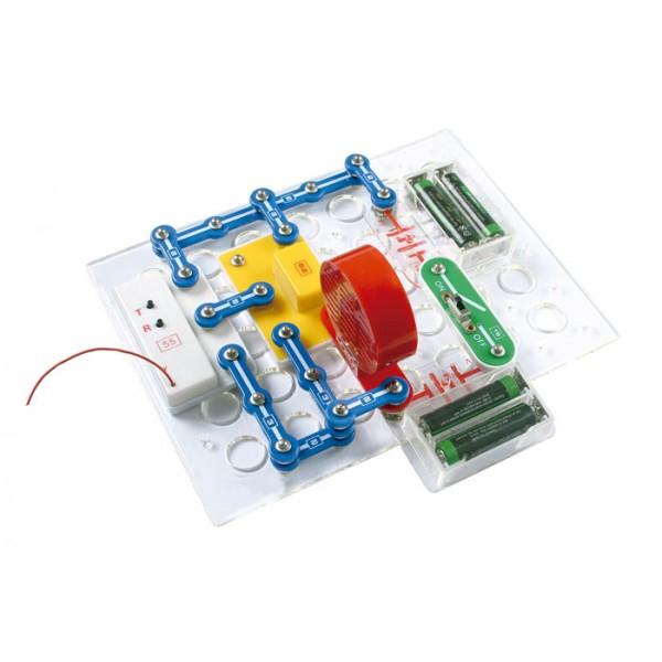 Puzzle Electronic Cu 198 Experimente 1