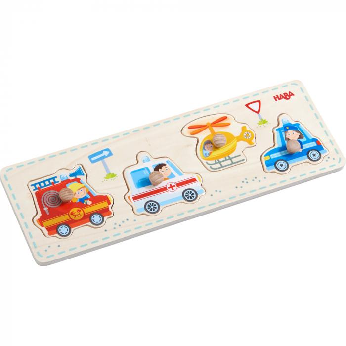 Puzzle lemn - vehicule de interventie (303184) 1