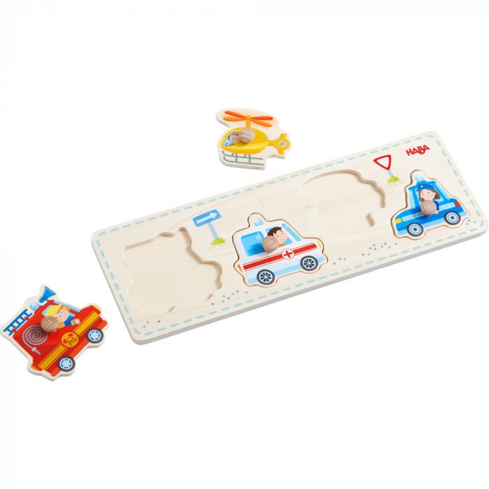 Puzzle lemn - vehicule de interventie (303184) 2