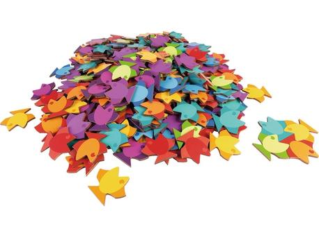 Puzzle mandala din lemn - Fish 1