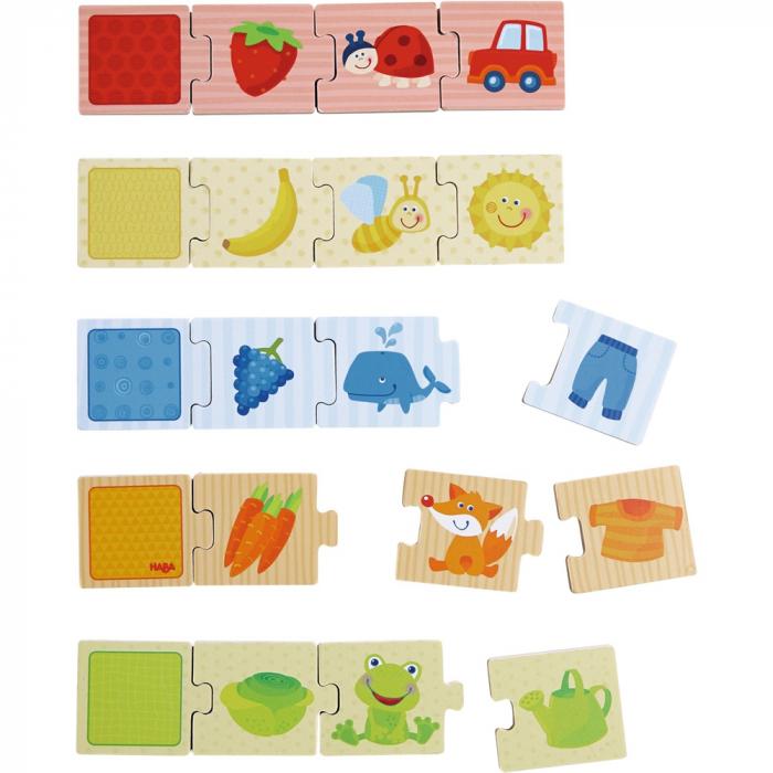 Puzzle lemn - Potriveste culorile 1
