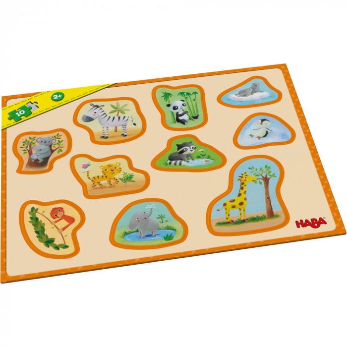 Puzzle - Puii de animale 0