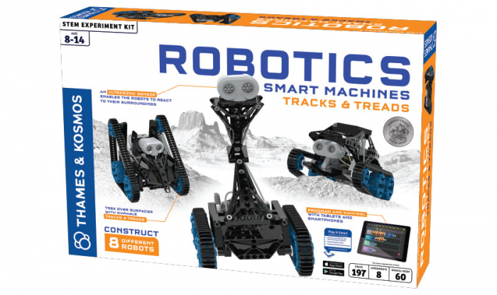 Robotics Smart Machines: Tracks & Treads 0