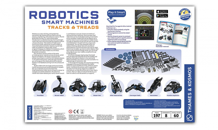 Robotics Smart Machines: Tracks & Treads 1