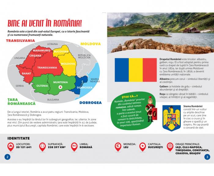 ROMANIA - CALATORESTE, INVATA, EXPLOREAZA 3