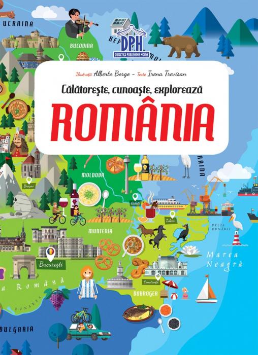 ROMANIA - CALATORESTE, INVATA, EXPLOREAZA 2