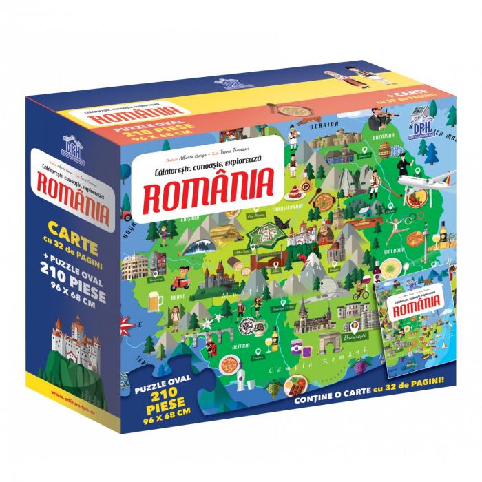 ROMANIA - CALATORESTE, INVATA, EXPLOREAZA 0