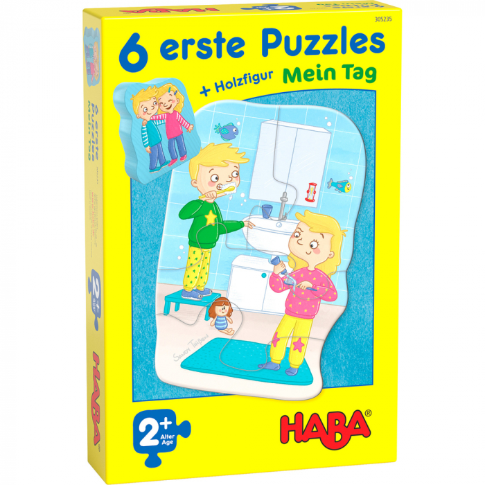 Set 6 puzzle-uri - Rutina zilnica (305235) 2