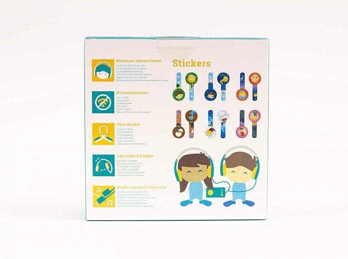 Set casti copii - Octave Headphones - pentru cutiuta cu povesti 3