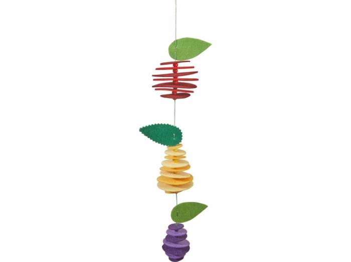Set creativ din fetru - Fructele 2