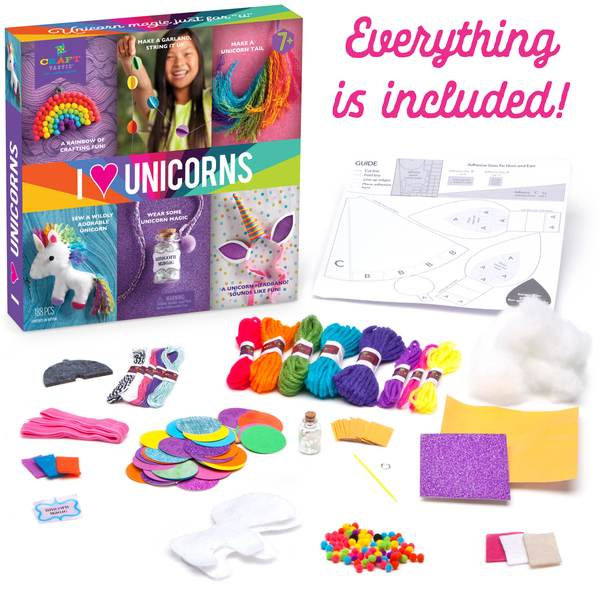 Set creativ - I Love Unicorns Kit 4