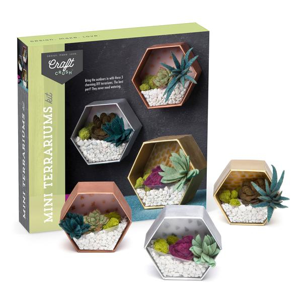 Set creativ - Mini Terrariums Kit 4