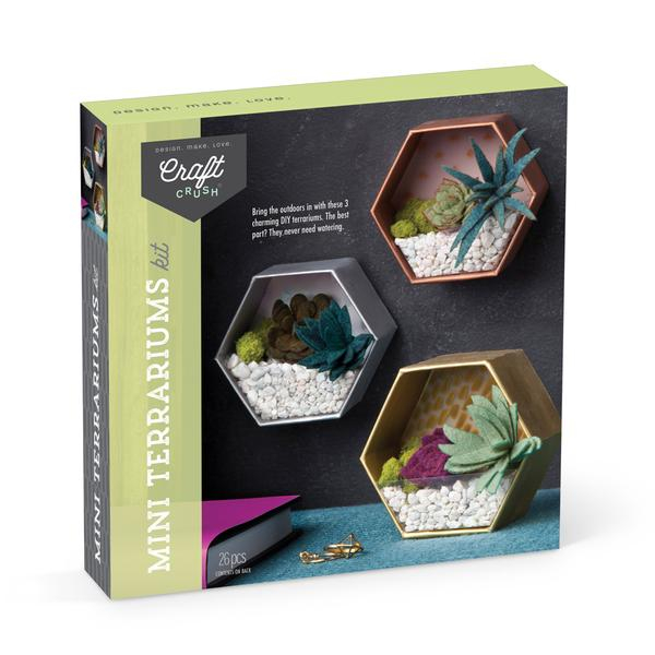 Set creativ - Mini Terrariums Kit 0