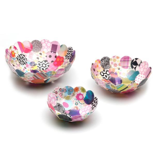 Set creativ - Paper Bowls Kit [2]