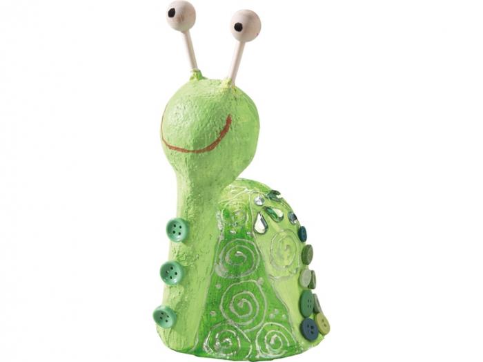 Set creativ pentru modelare - Snails Modeling Set 3