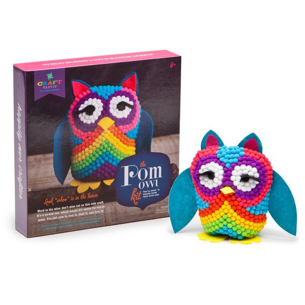 Set creativ - Pom Owl Kit 4