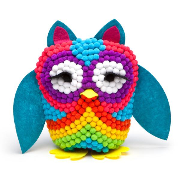 Set creativ - Pom Owl Kit 2