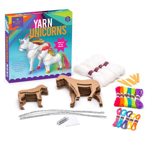 Set creativ - Yarn Unicorns Kit 4