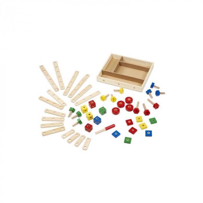 Set de construit din lemn, cu suruburi [2]