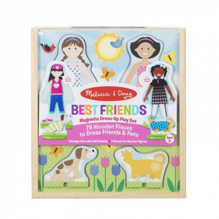 Set de joaca magnetic - Best Friends 0