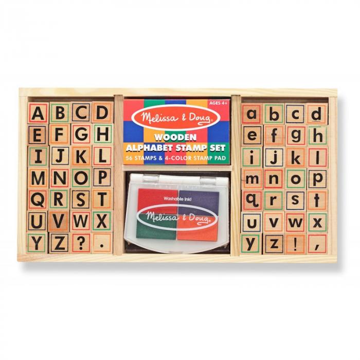 Set de stampile Alfabet 0