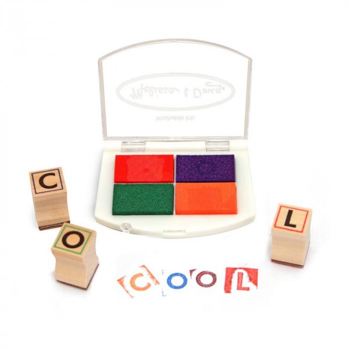 Set de stampile Alfabet 1