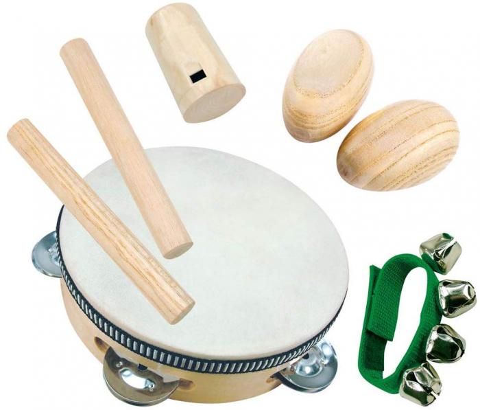 Set mini orchestra din lemn - Bino Mertens 86550 0