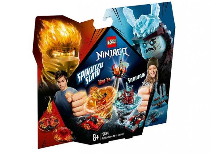 Slam Spinjitzu - Kai contra Samurai (70684) LEGO Ninjago 0