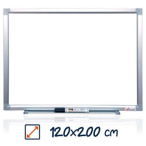 Tabla magnetica alba VISUAL – 120×200 cm 0