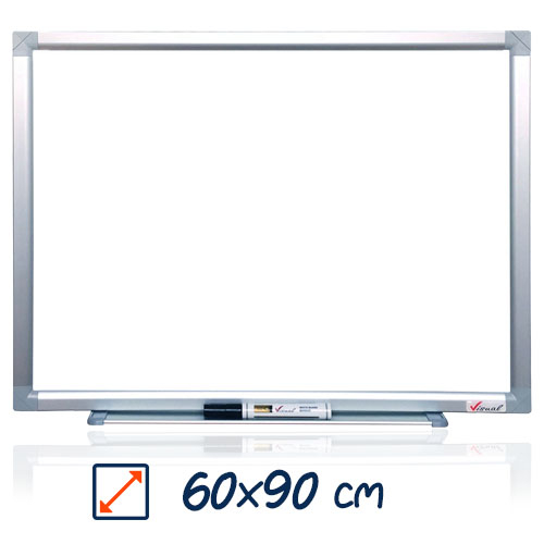 Tabla magnetica alba VISUAL – 60×90 cm 0