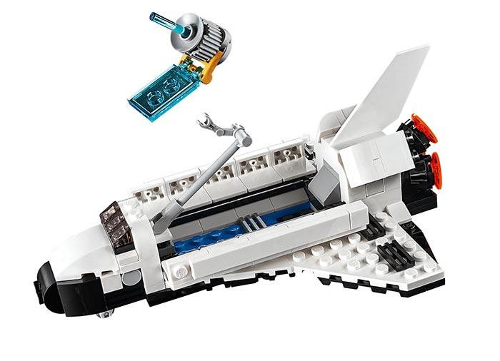 Transportorul navetei spatiale - LEGO Creator 31091 3