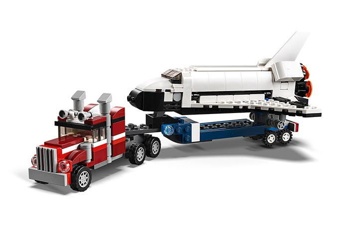 Transportorul navetei spatiale - LEGO Creator 31091 2