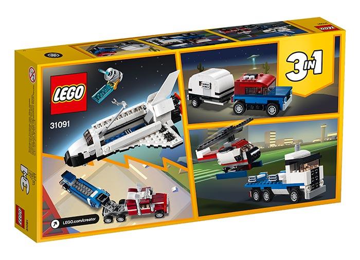 Transportorul navetei spatiale - LEGO Creator 31091 0