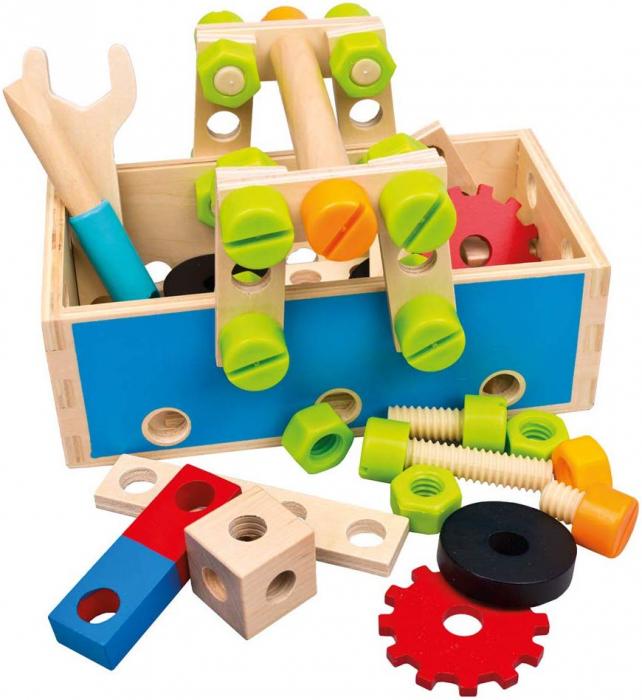 Trusa de construit - Atelierul creativ 4 in 1 82147 2