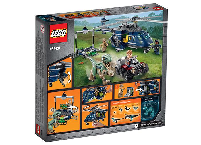 Urmarirea lui Blue - LEGO Jurassic World 75928 4